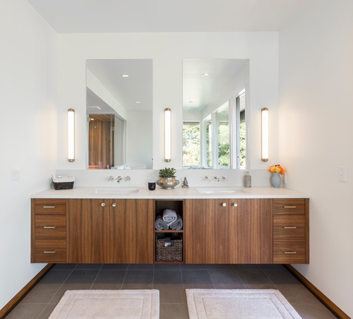 How to add a modern aesthetic to countertops