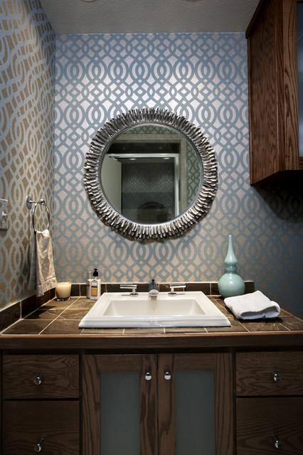 Mid-Century Modern Bathroom midcentury-bathroom