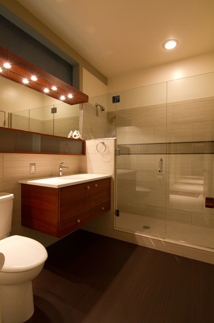 Mid Century Modern Bathroom Contemporary Bathroom Portland By