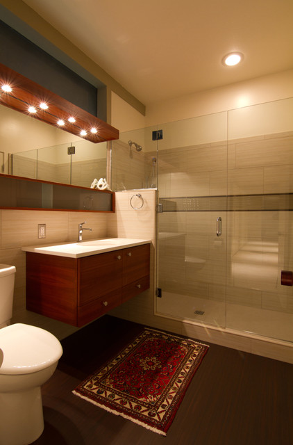 mid-century modern bathroom contemporary bathroom