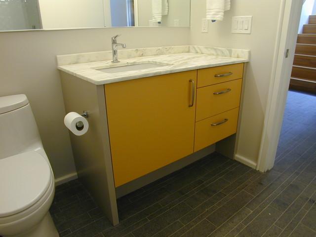 Mid-Century Modern Energy STAR Home Bathrooms modern-bathroom