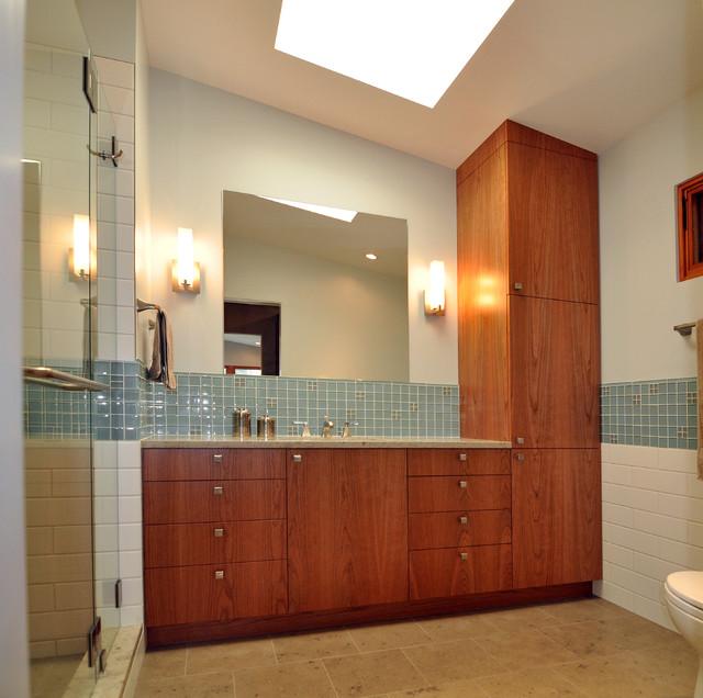 Mid Century Modern Master Suite Midcentury Bathroom