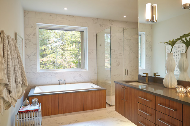 Mid Century Modern Midcentury Bathroom Grand Rapids