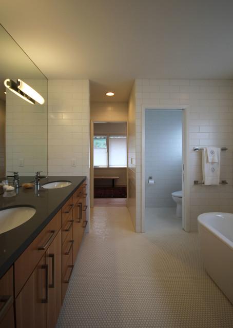 Mid century modern ranch remodel midcentury bathroom for Modern ranch bathroom