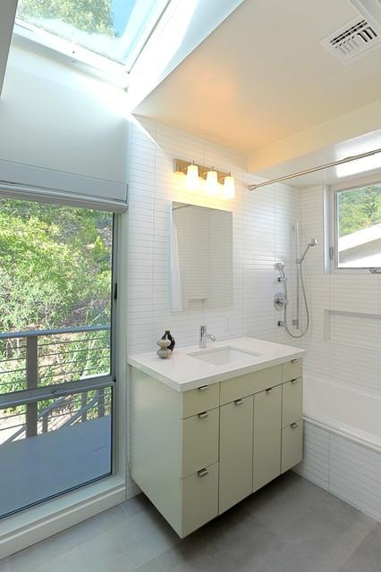 Mid Century Modern Remodel Bath - Contemporary - Bathroom ...