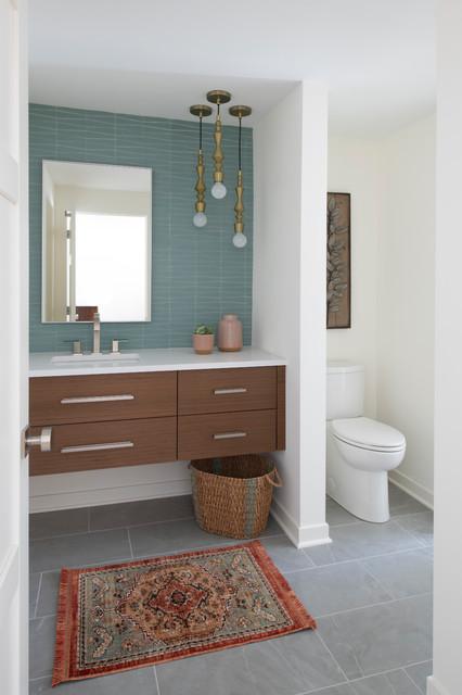Mid Century Modern Remodel Midcentury Bathroom Minneapolis