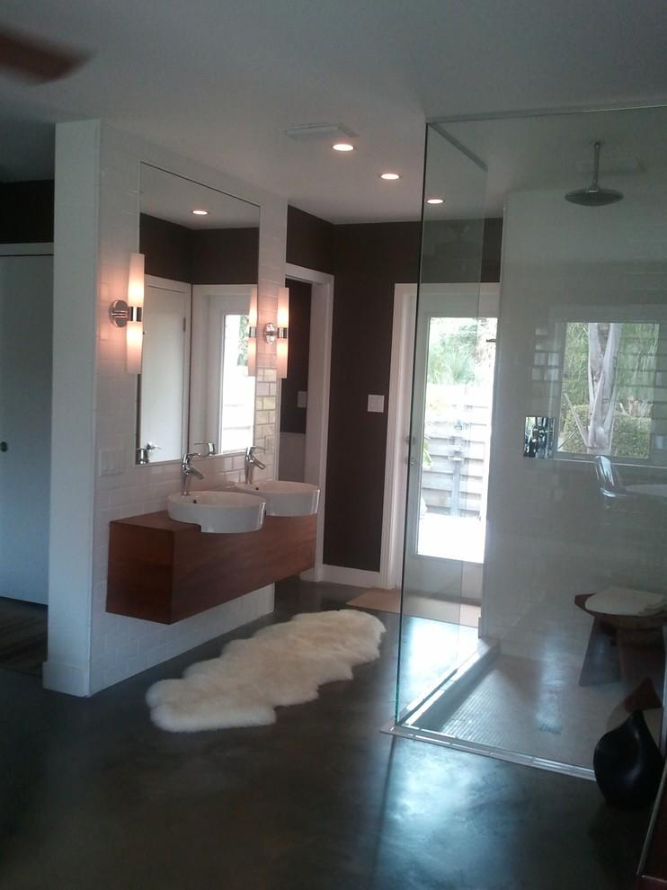 Mid Century Modern Update - Midcentury - Bathroom - Tampa ...