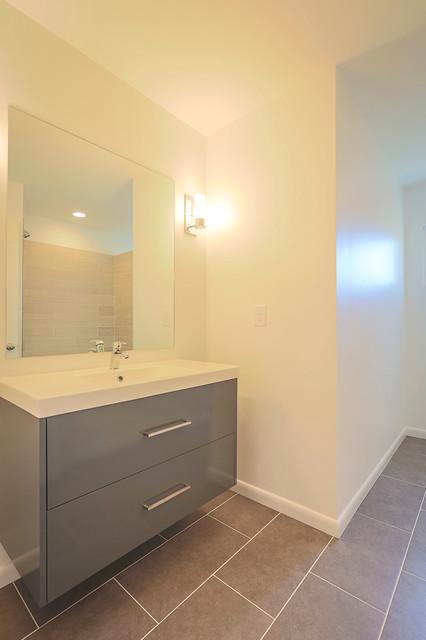 Mid century modern modern bathroom other metro by for Bathroom remodel jackson tn