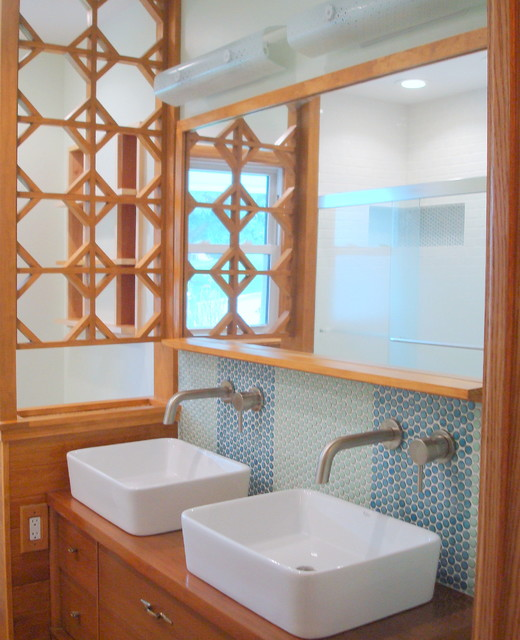 Mid-Century Ranch Bathroom Remodel - Midcentury - Bathroom - dc metro ...