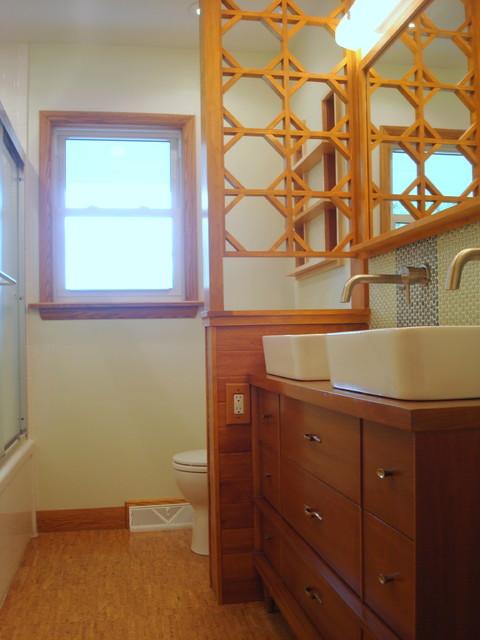 Mid Century Ranch Bathroom Remodel Midcentury Bathroom Dc Metro By Modern Renovations