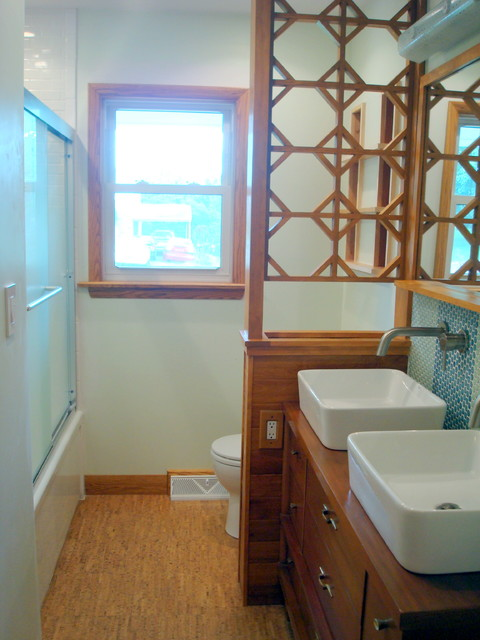 Mid Century Ranch Bathroom Remodel Modern Bathroom Richmond By Rachael Trissel Designer