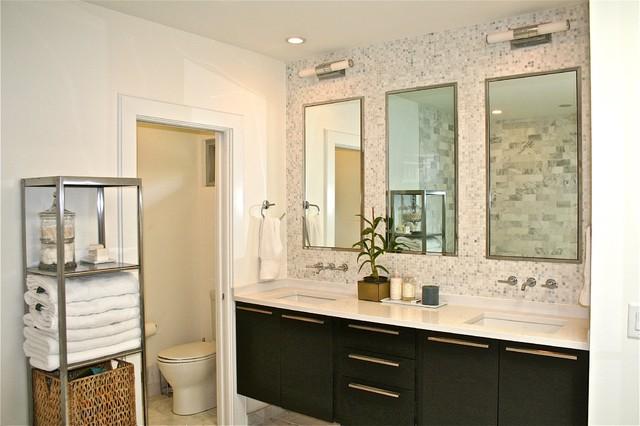 Mid Century Ranch Master Bath Midcentury Bathroom Atlanta By Sean Key Design