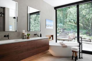 Mid-Century Badezimmer Ideen, Design & Bilder | Houzz