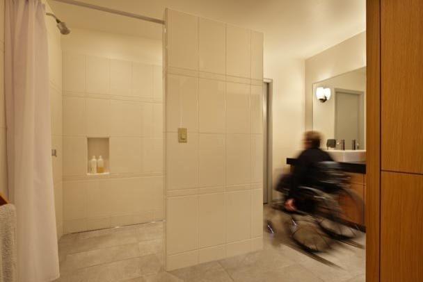 Mid-Century Remodel midcentury-bathroom