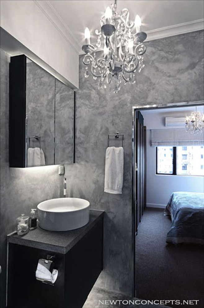 Mid Levels - Contemporary - Bathroom - Hong Kong - by ...
