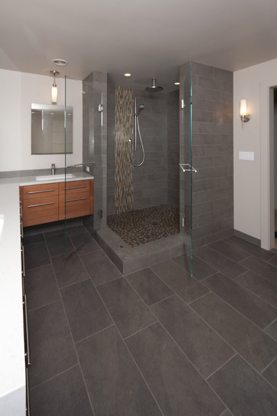 Mid Modern 1 - Contemporary - Bathroom - seattle - by ...