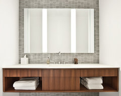 Mid-North Residence contemporary bathroom