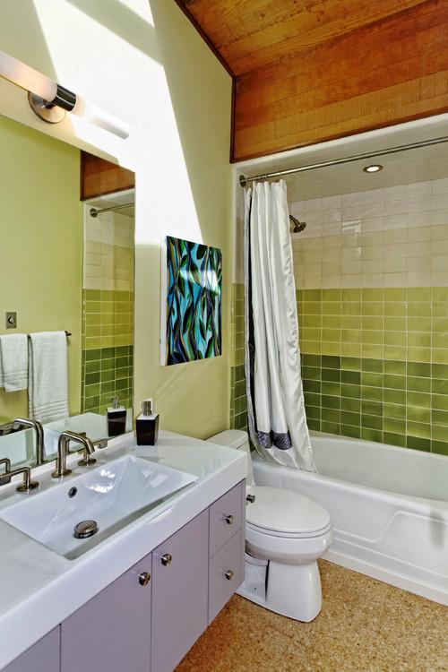Ombré Bathroom