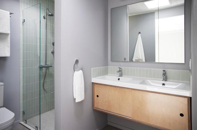 Tile Standing Shower   Houzz