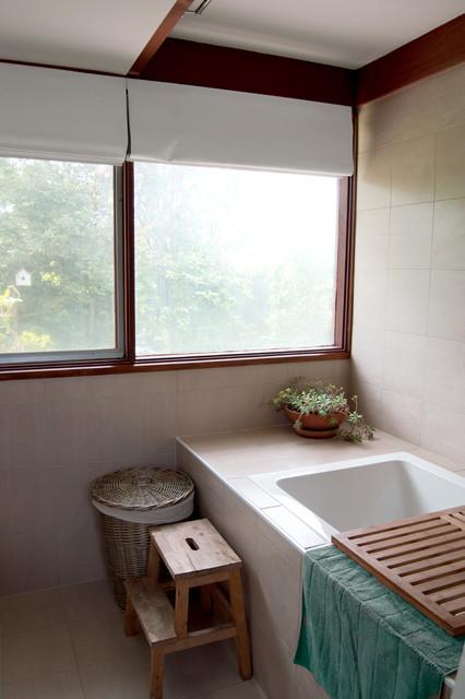 Midcentury modern canberra renovation for Bathroom renovations canberra