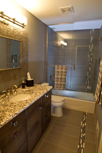 Middleton master bathroom remodel transitional for Bath remodel milwaukee