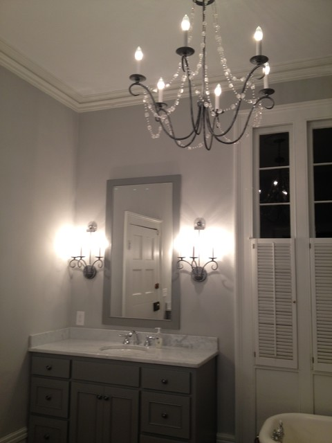 Middleton Plantation Project traditional bathroom