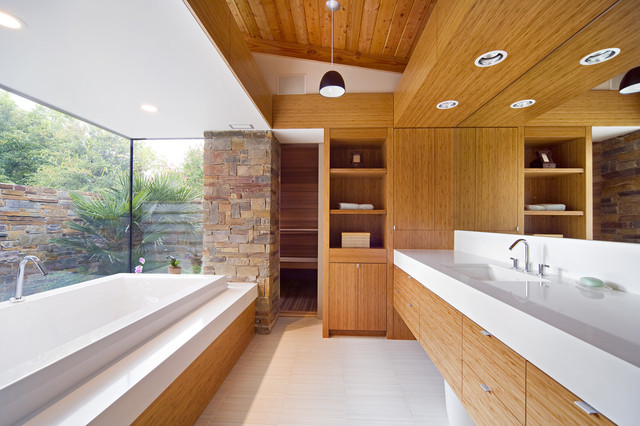 Middleton Residence contemporary-bathroom
