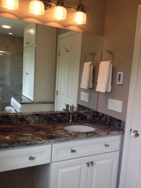 middletown ct master bath remodel project