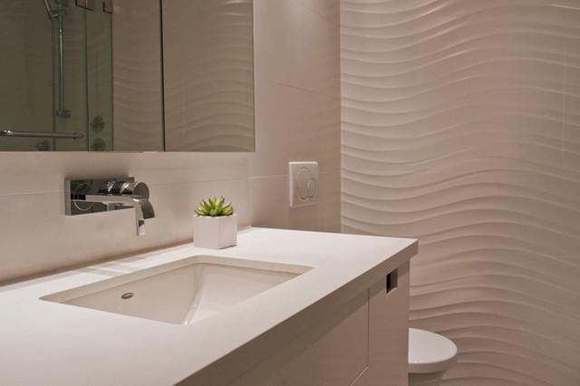 Midtown East Condo modern-bathroom