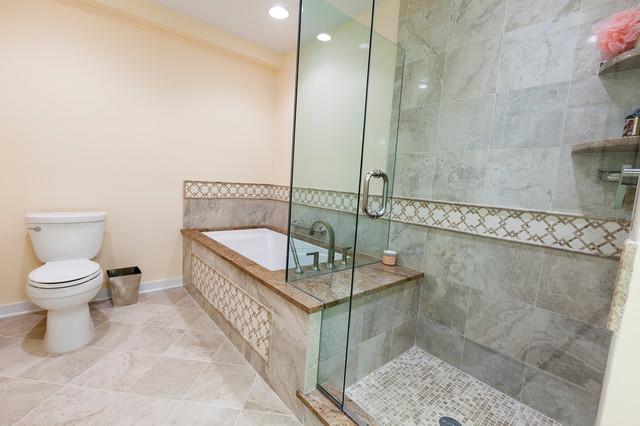 Ocean-Front Condo traditional-bathroom