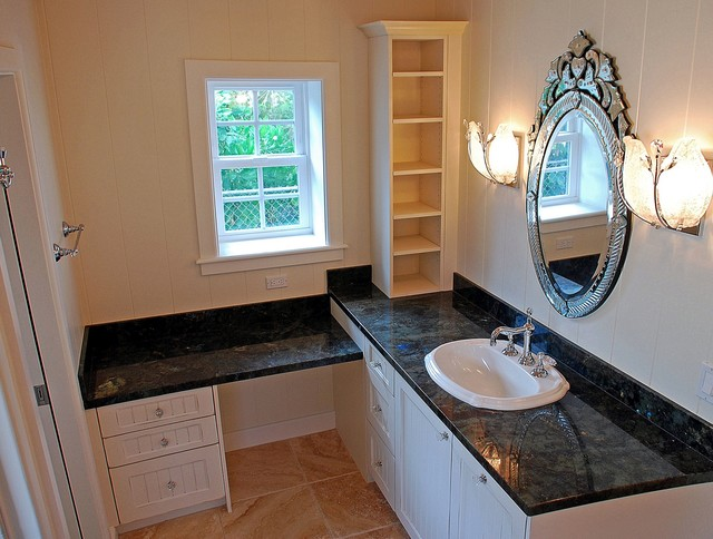 Milie Designed traditional-bathroom