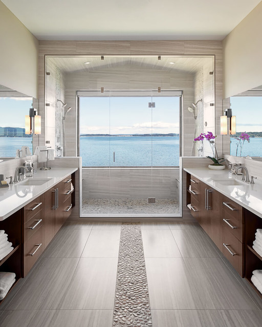 Mill Bay Oceanviews contemporary-bathroom