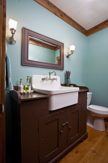Mill creek ridge farmhouse farmhouse bathroom minneapolis by