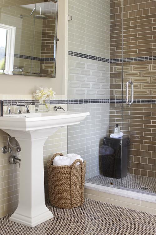 contemporary bathroom by Urrutia Design