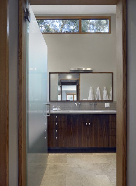 mill valley house modern bathroom