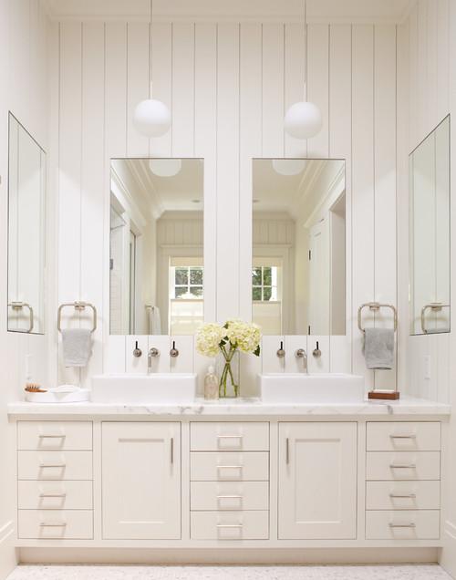 White in the Bath