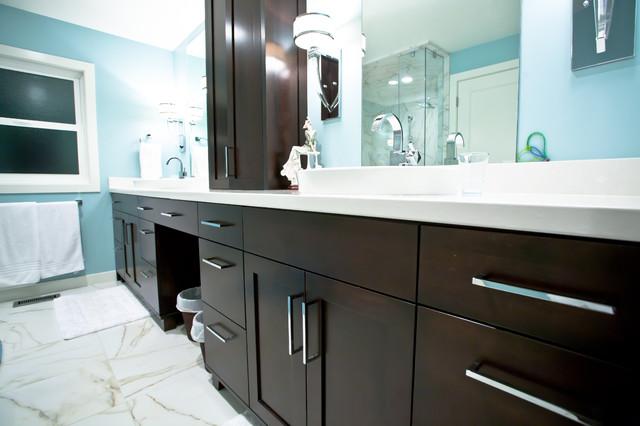 Millcreek House Contemporary Bathroom Salt Lake City By Deco Design