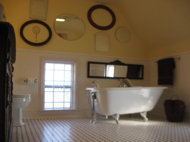 Miller Bathroom 1940s Retro Farmhouse Bathroom Other