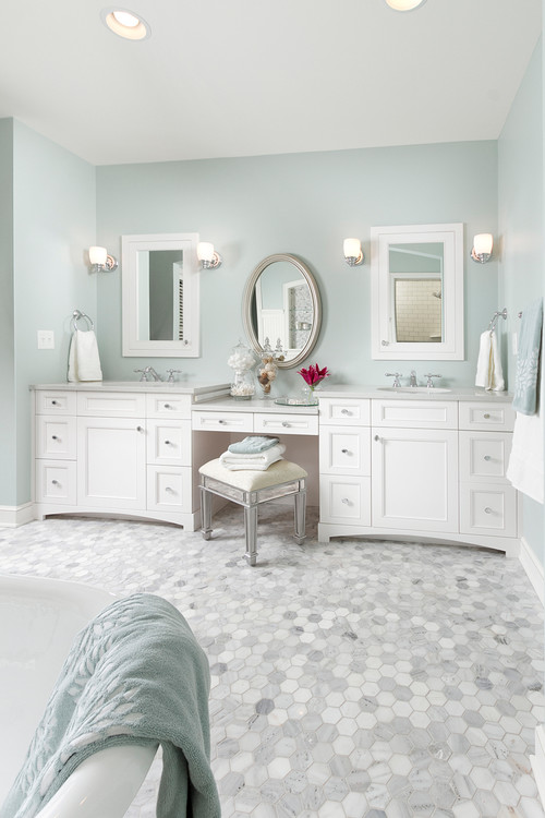 Well known How To Light a Bathroom Mirror With Sconces HW49