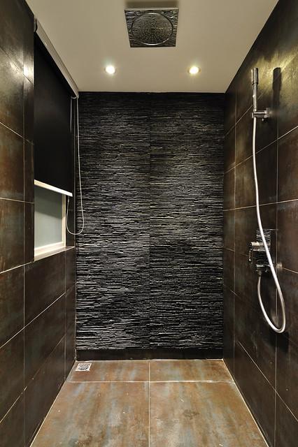 Minimal Zen Bathroom Moderno Stanza Da Bagno Hong