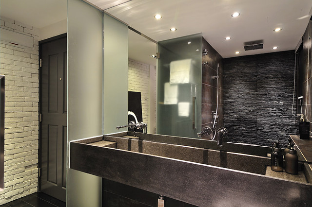 Minimal Zen Bathroom Modern Hong Kong By