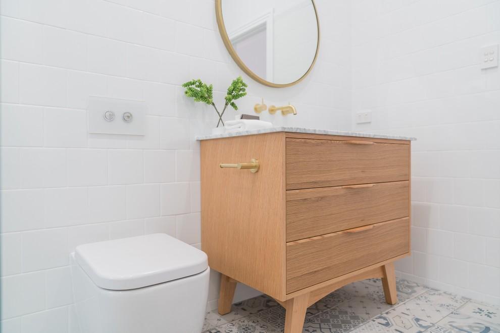 Minimalist Bathroom Remodel Ft Alexander 36 Inch Natural Bathroom Vanity Modern Bathroom Brisbane By Vanity By Design Houzz