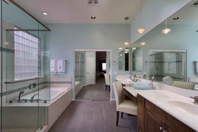 Bathroom Remodeling Minimalist minimalist contemporary bathroom remodel - contemporary - bathroom