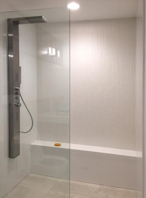 Minimalist White Shower Industrial Bathroom Orange County By Best Bathroom Remodel Orange County Minimalist