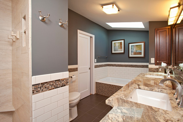 Minneapolis Bathroom and Dormer Addition traditional-bathroom