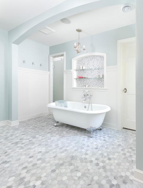 Minneapolis Cape Cod Renovation Traditional Bathroom