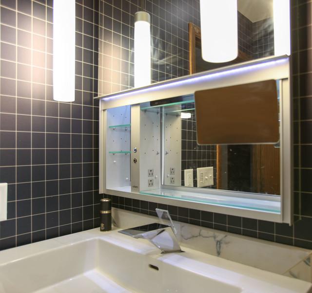 Minneapolis Modern Bathroom Remodel Contemporary