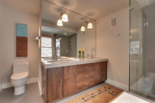Minneapolis remodel contemporary bathroom for Bathroom remodel minneapolis