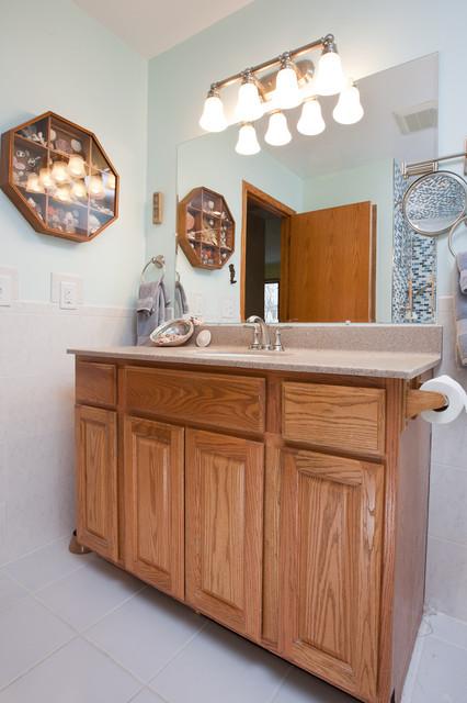Minneapolis seascape bathroom remodel contemporary for Bathroom remodel minneapolis