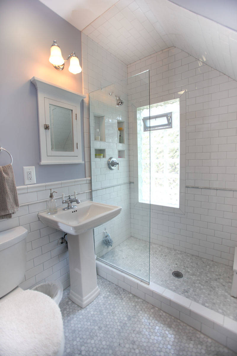 75 Beautiful Bathroom With A Pedestal Sink Pictures Ideas September 2021 Houzz